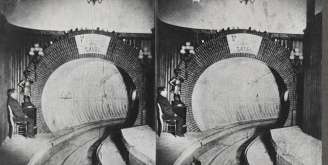 """""""Pneumotranzyt"""" – podziemny tunel dla pociągówpneumatycznych 2"""