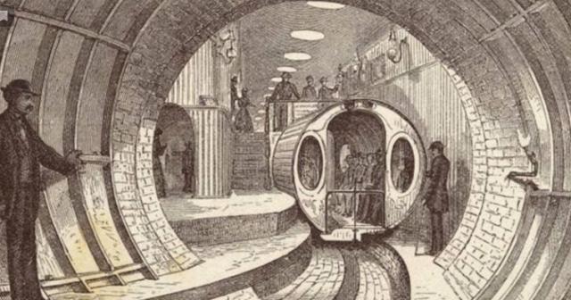 """""""Pneumotranzyt"""" – podziemny tunel dla pociągówpneumatycznych 3"""