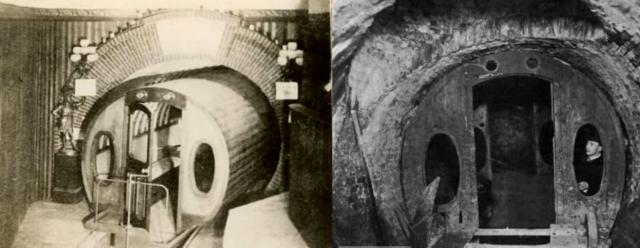 """""""Pneumotranzyt"""" – podziemny tunel dla pociągówpneumatycznych 5"""