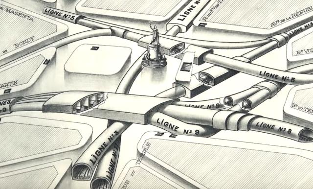 """""""Pneumotranzyt"""" – podziemny tunel dla pociągówpneumatycznych 10"""