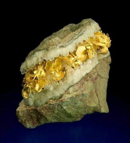 Jak powstaje samorodne złoto? 1
