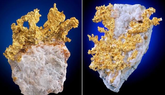 Jak powstaje samorodne złoto? 5